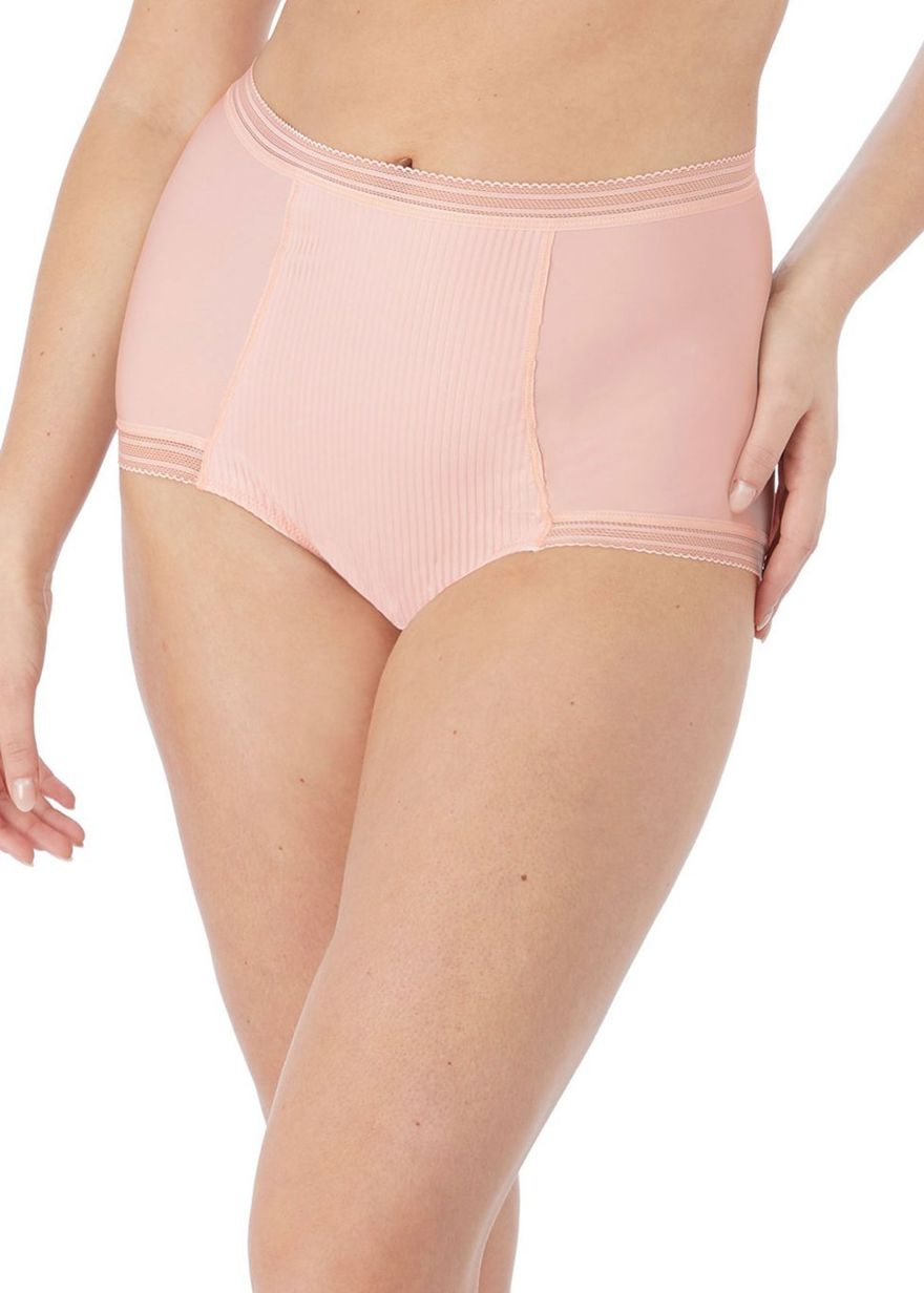 Figi Fantasie FUSION FL3098BLH High Waist Brief Blush