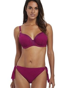 Biustonosz Fantasie OTTAWA FS6353MUY Uw Moulded Gathered Bikini Top Mulberry